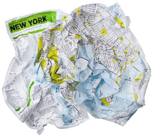Der Stadtplan zum Knüllen