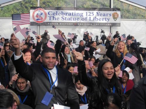 Geburtstagsfeier Freiheitsstatue