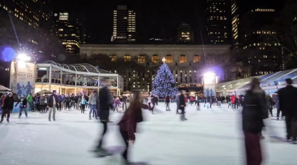 Eislaufen in New York