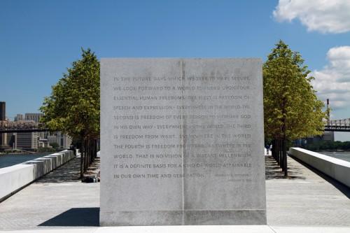 Auszug der Rede zu den vier Freiheiten von Franklin D. Roosevelt