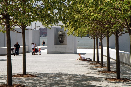 FDR Four Freedoms Park auf Roosevelt Island im Four Freedoms Park