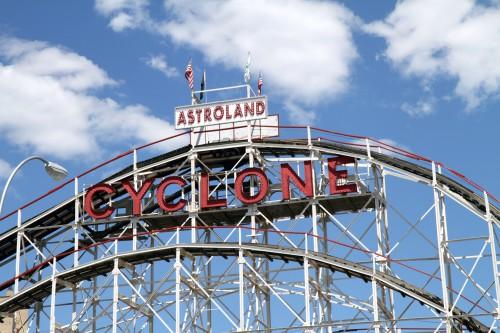 Coney Island Achterbahn Cyclone