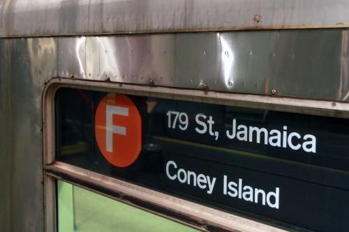U-Bahnlinie F nach Coney Island