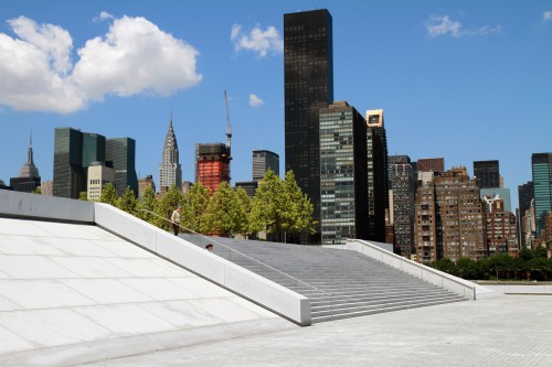 Treppe Four Freedoms Park New York City