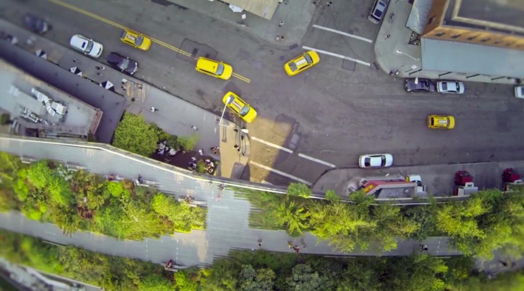 Highline Park von oben - Videostill Aerial NYC Randy Scott Slavin