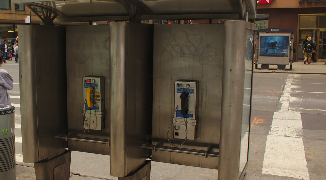 Telefonzellen New York City