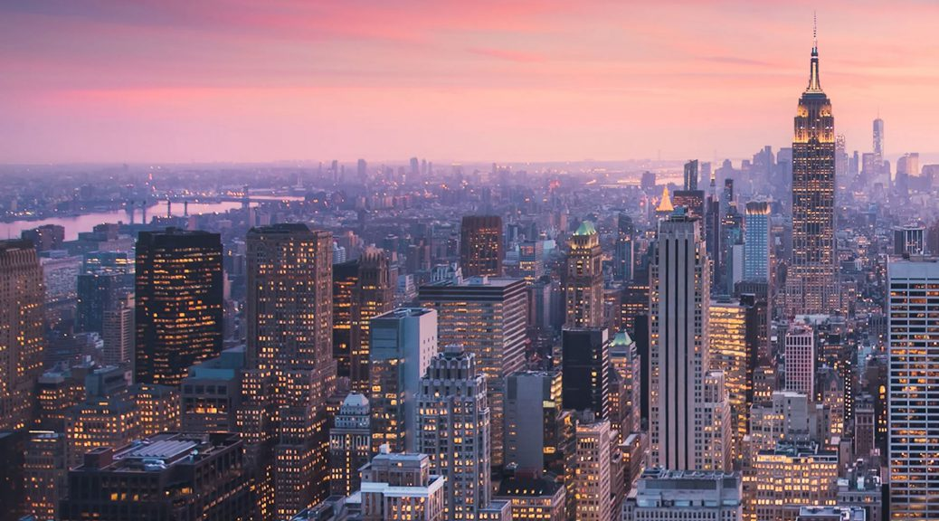 New York City Manhattan Timelapse
